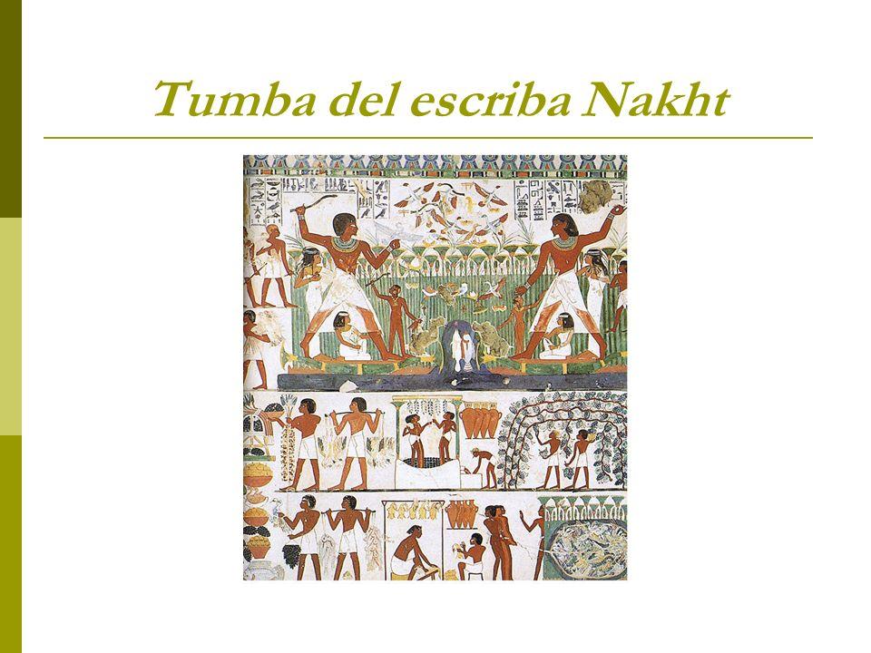 Tumba del escriba Nakht