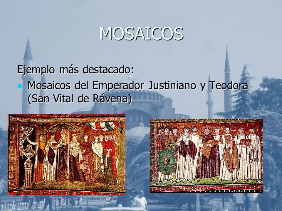MOSAICOS Ejemplo más destacado: