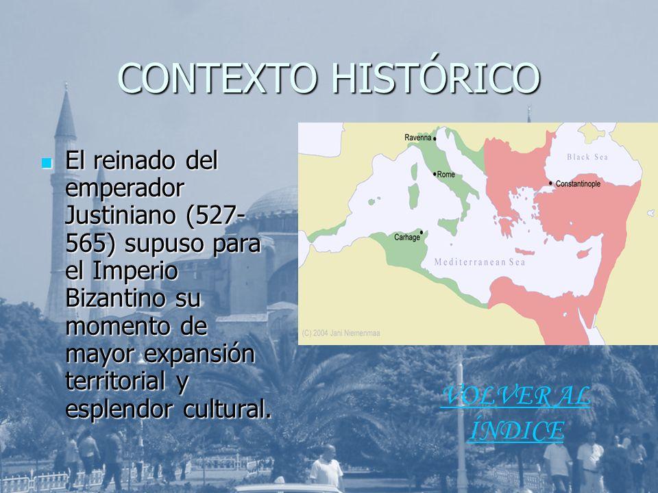 CONTEXTO HISTÓRICO VOLVER AL ÍNDICE