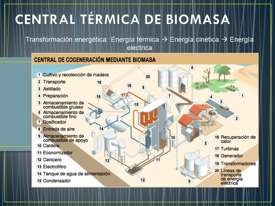 CENTRAL TÉRMICA DE BIOMASA