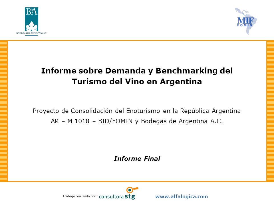 Informe sobre Demanda y Benchmarking del Turismo del Vino en Argentina