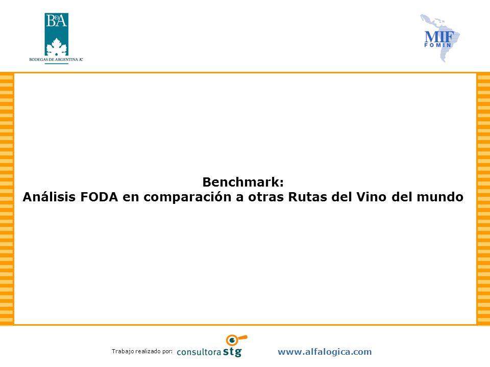 Benchmark: Análisis FODA en comparación a otras Rutas del Vino del mundo