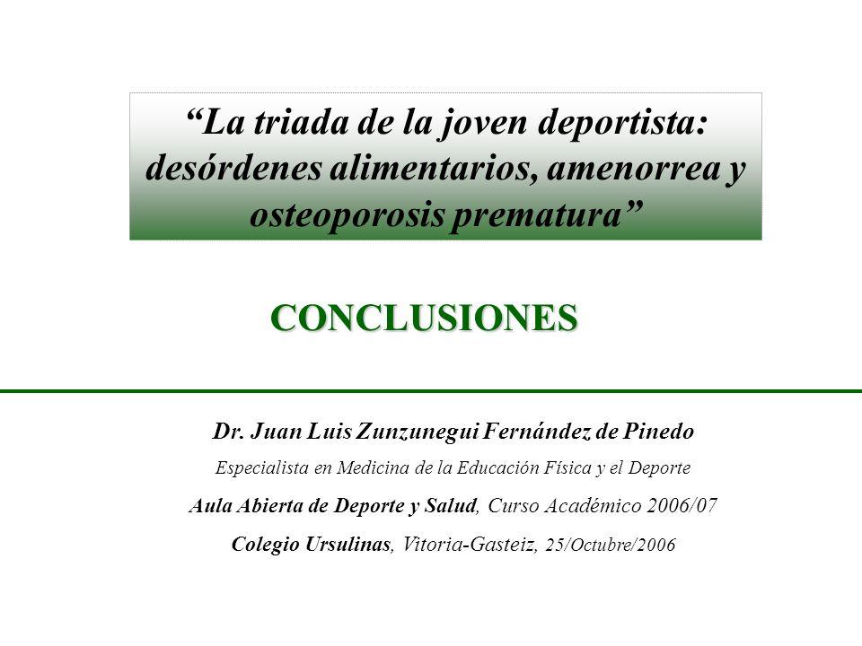 Dr. Juan Luis Zunzunegui Fernández de Pinedo