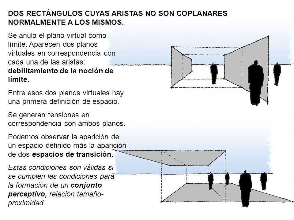 DOS RECTÁNGULOS CUYAS ARISTAS NO SON COPLANARES NORMALMENTE A LOS MISMOS.