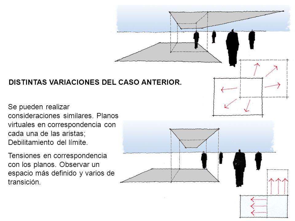 DISTINTAS VARIACIONES DEL CASO ANTERIOR.