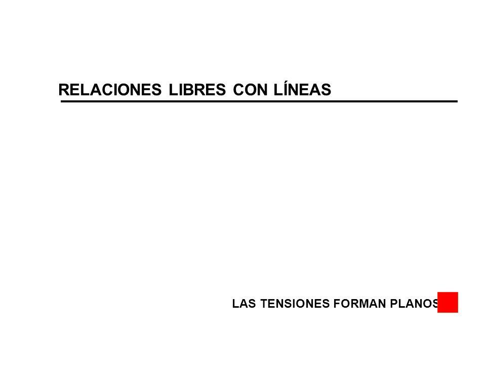 RELACIONES LIBRES CON LÍNEAS