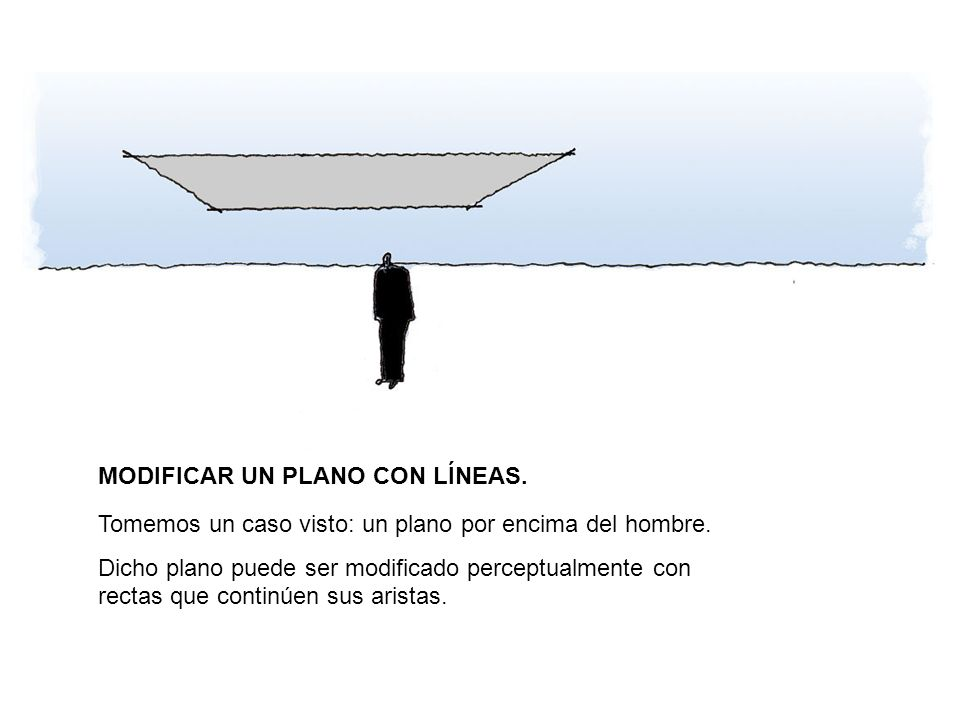 MODIFICAR UN PLANO CON LÍNEAS.