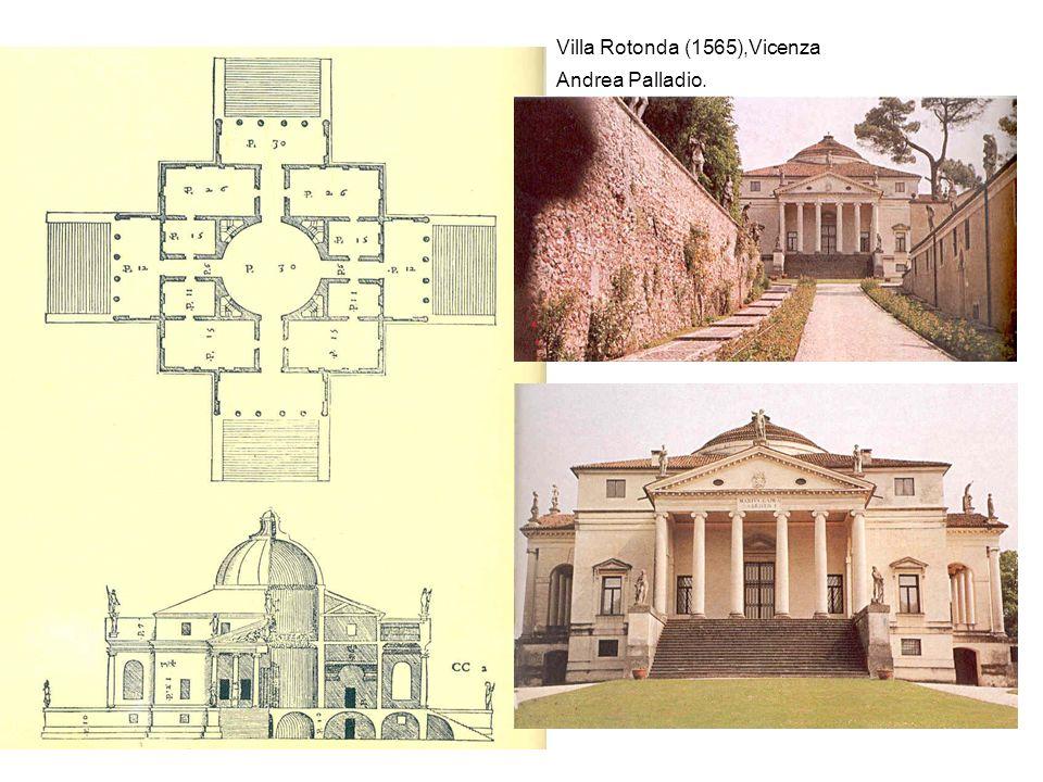 Villa Rotonda (1565),Vicenza