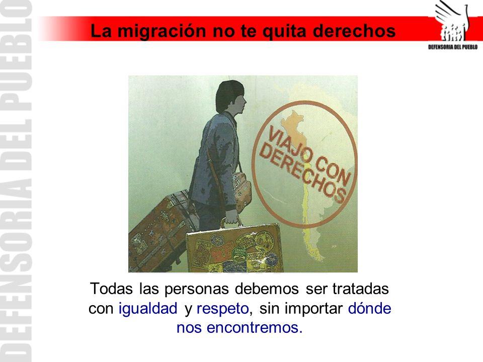 La migración no te quita derechos