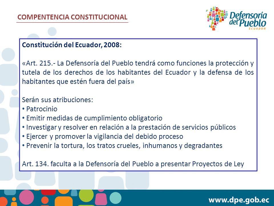 COMPENTENCIA CONSTITUCIONAL