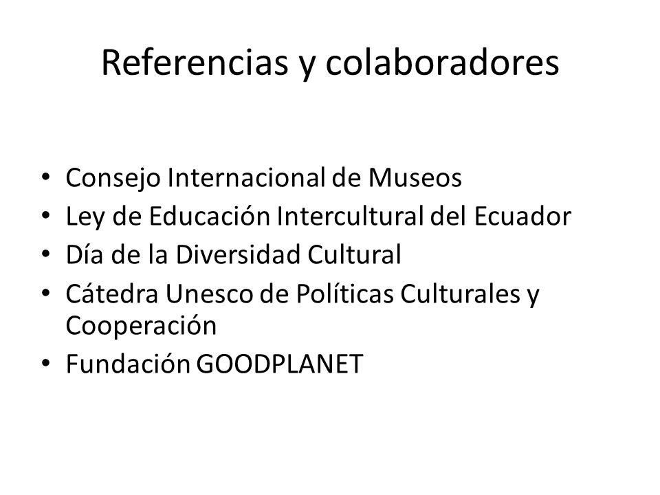 Referencias y colaboradores