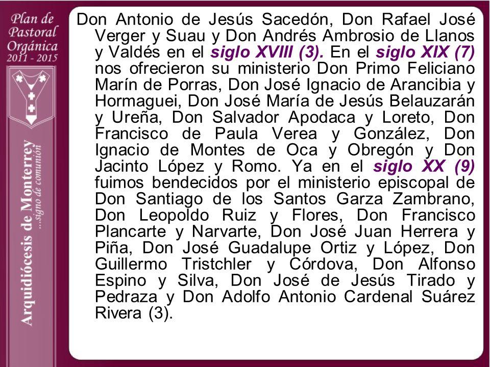 Don Antonio de Jesús Sacedón, Don Rafael José Verger y Suau y Don Andrés Ambrosio de Llanos y Valdés en el siglo XVIII (3).