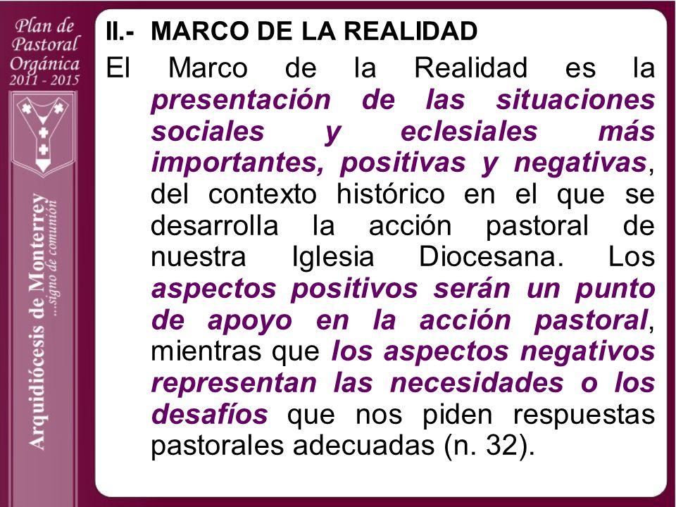 II.- MARCO DE LA REALIDAD