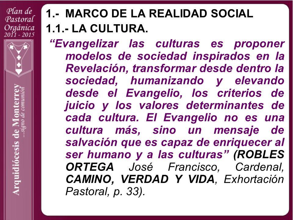 1.- MARCO DE LA REALIDAD SOCIAL