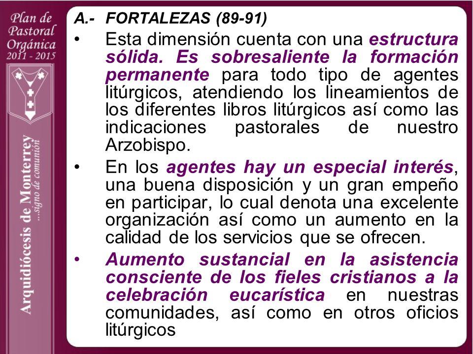 A.- FORTALEZAS (89-91)