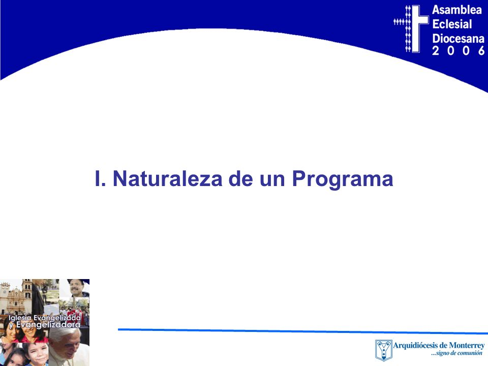 I. Naturaleza de un Programa