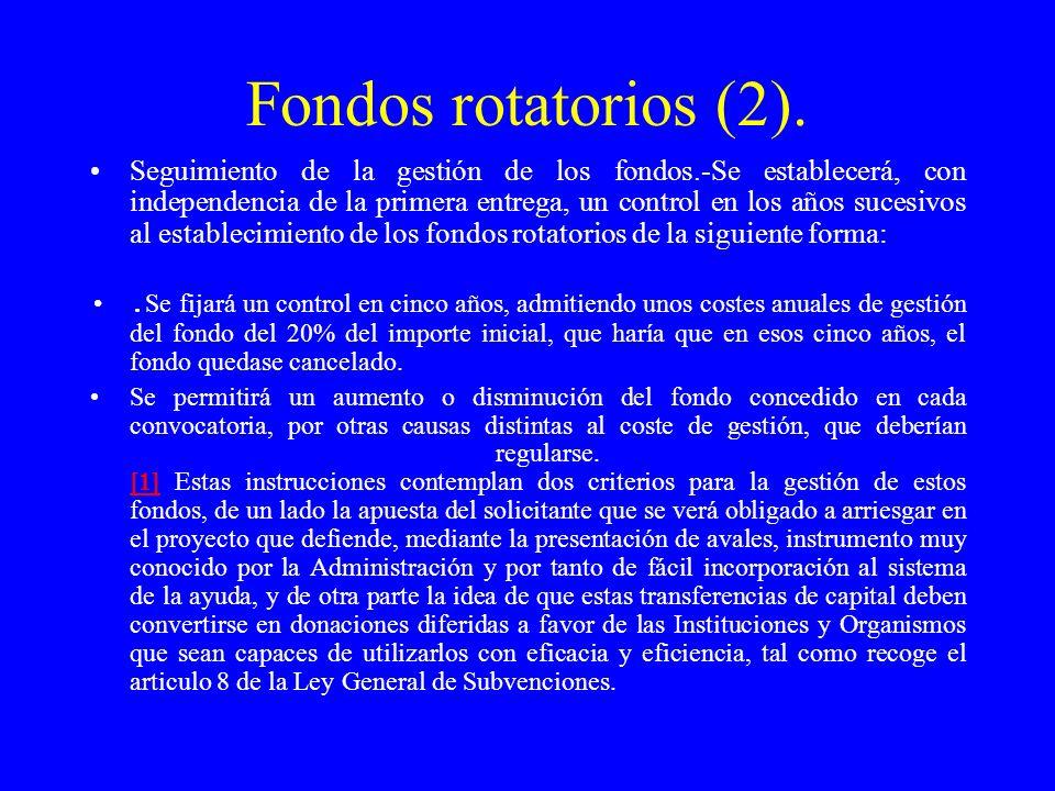 Fondos rotatorios (2).