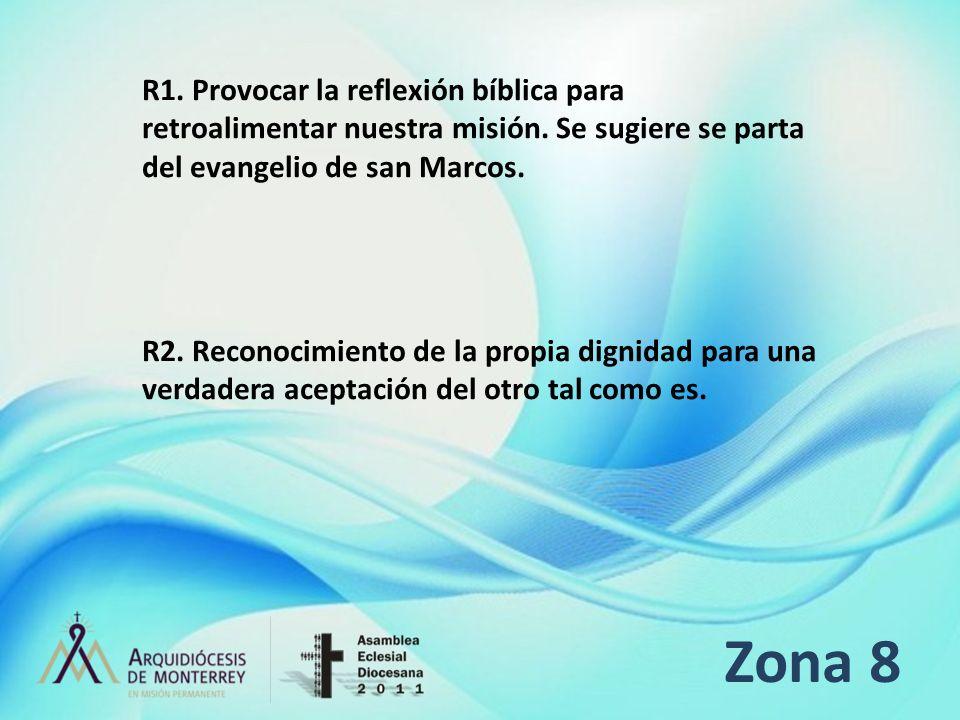 R1. Provocar la reflexión bíblica para retroalimentar nuestra misión