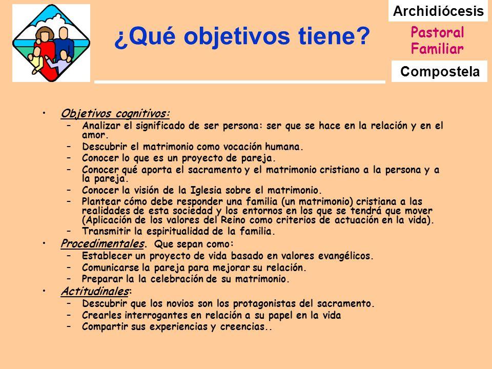 ¿Qué objetivos tiene Objetivos cognitivos: