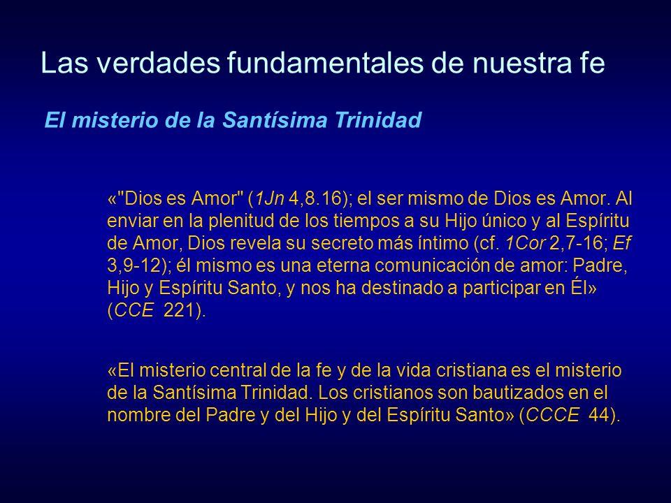 Las verdades fundamentales de nuestra fe