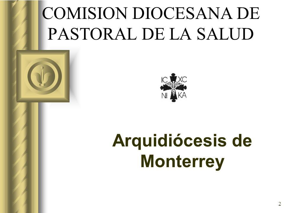 COMISION DIOCESANA DE PASTORAL DE LA SALUD