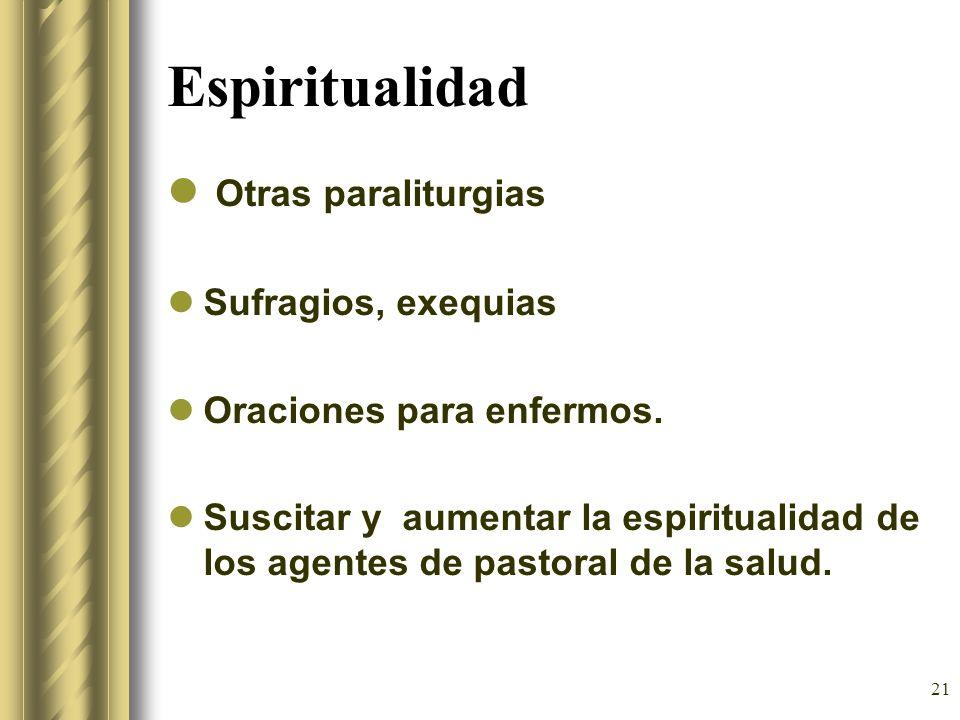 Espiritualidad Otras paraliturgias Sufragios, exequias