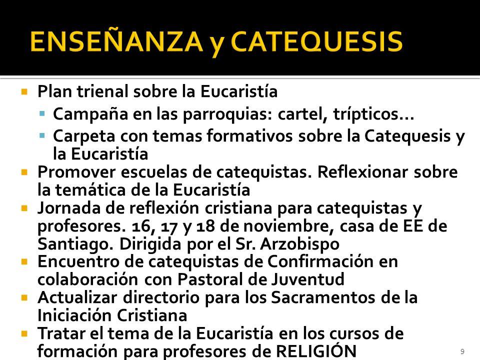 ENSEÑANZA y CATEQUESIS