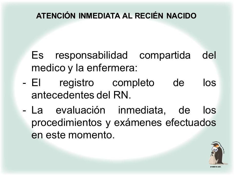 ATENCIÓN INMEDIATA AL RECIÉN NACIDO