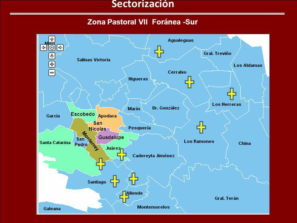 Zona Pastoral VII Foránea -Sur