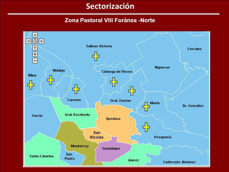 Zona Pastoral VIII Foránea -Norte