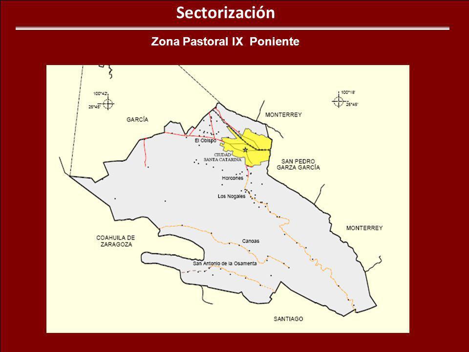 Zona Pastoral IX Poniente