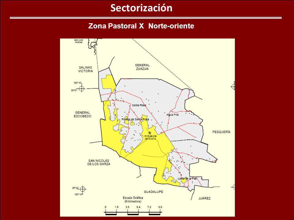 Zona Pastoral X Norte-oriente