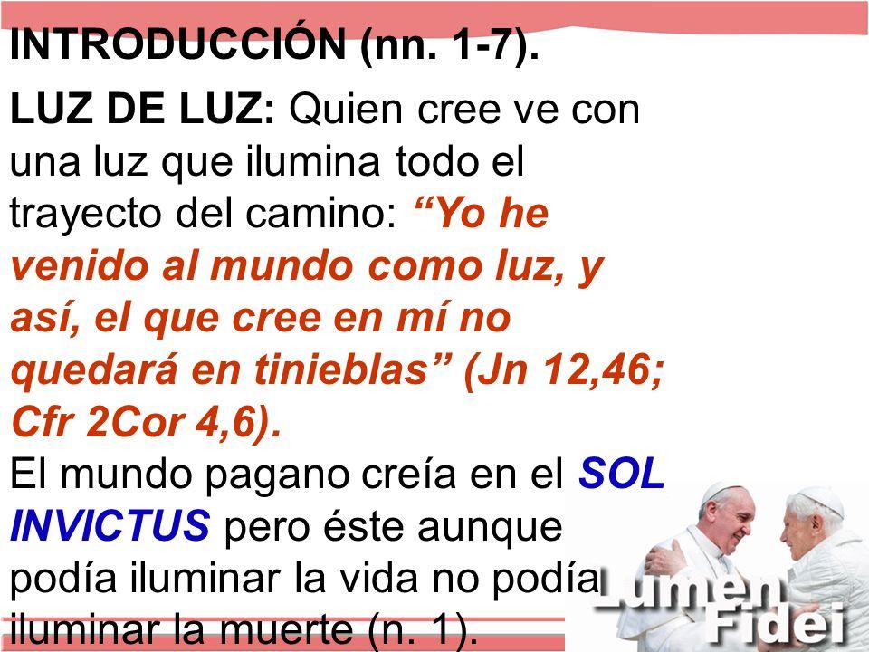 INTRODUCCIÓN (nn. 1-7).