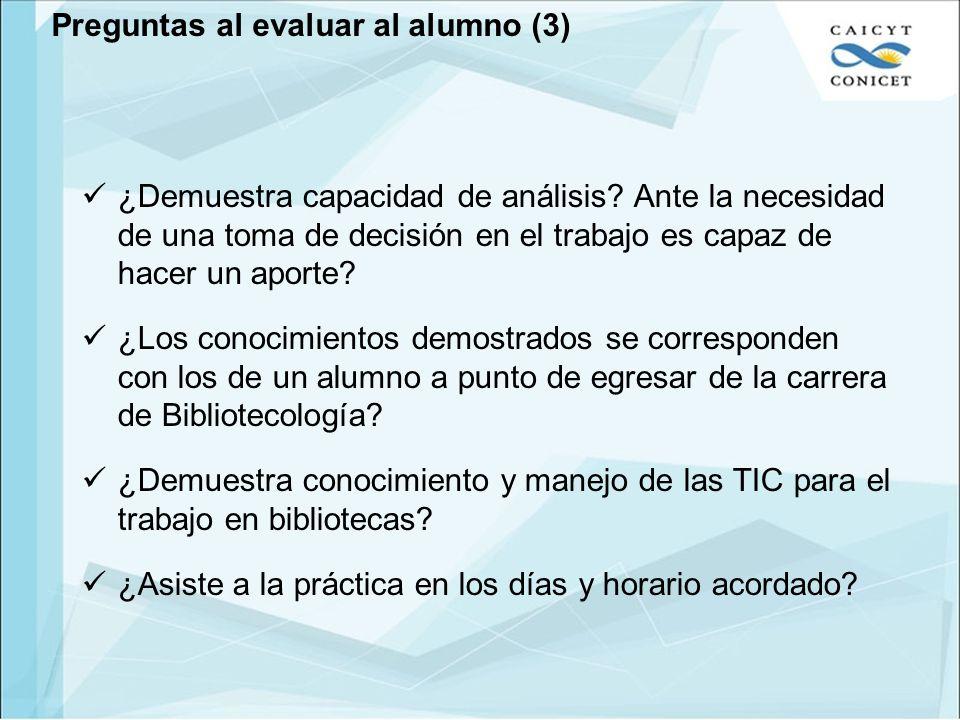 Preguntas al evaluar al alumno (3)