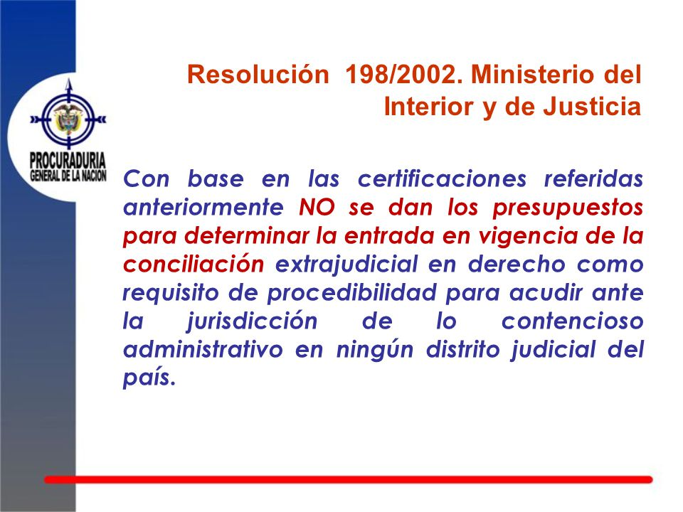 Conciliar antes que demandar ppt descargar for Ministerio popular de interior y justicia
