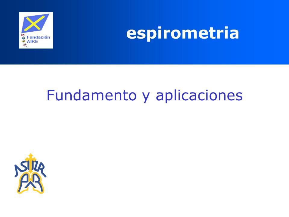 Fundamento y aplicaciones