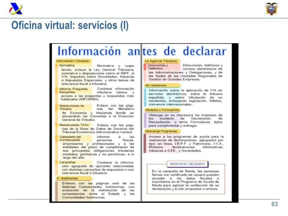 Flujo y administraci n de la informaci n tributaria ppt for Oficina virtual de la ugr