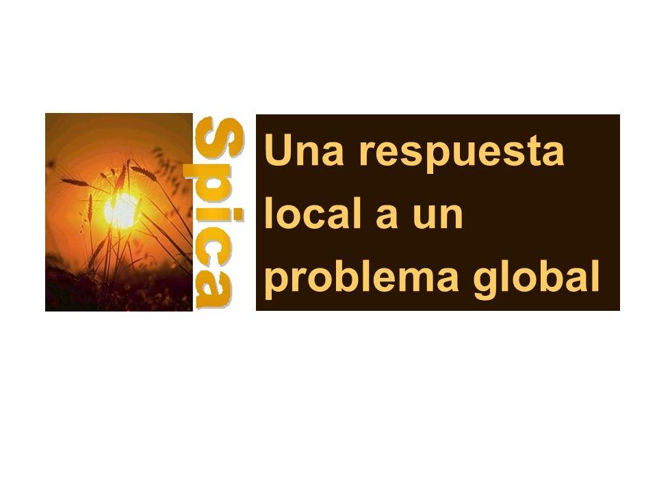 Una respuesta local a un problema global