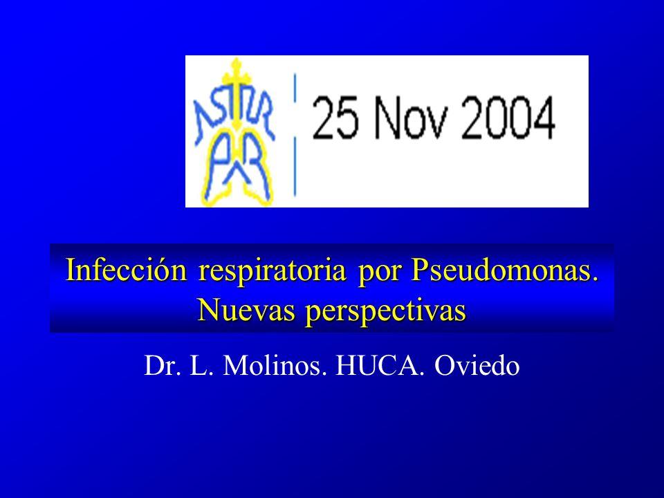 Infección respiratoria por Pseudomonas. Nuevas perspectivas