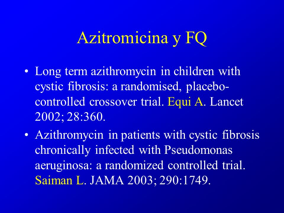 Azitromicina y FQ