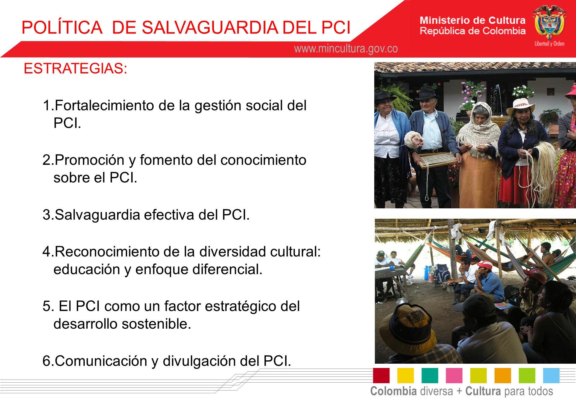 POLÍTICA DE SALVAGUARDIA DEL PCI