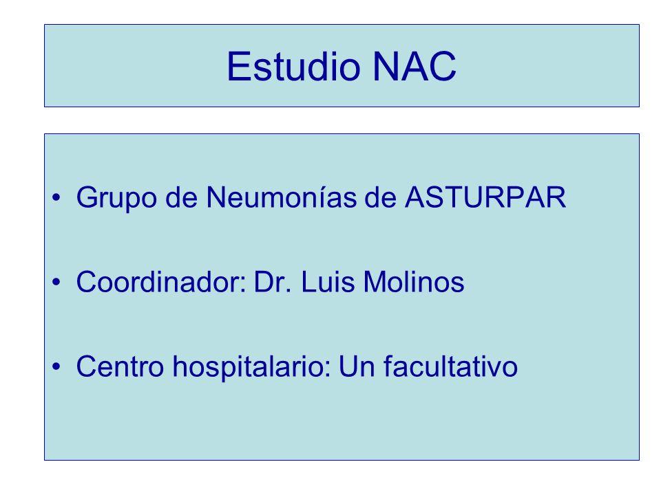 Estudio NAC Grupo de Neumonías de ASTURPAR