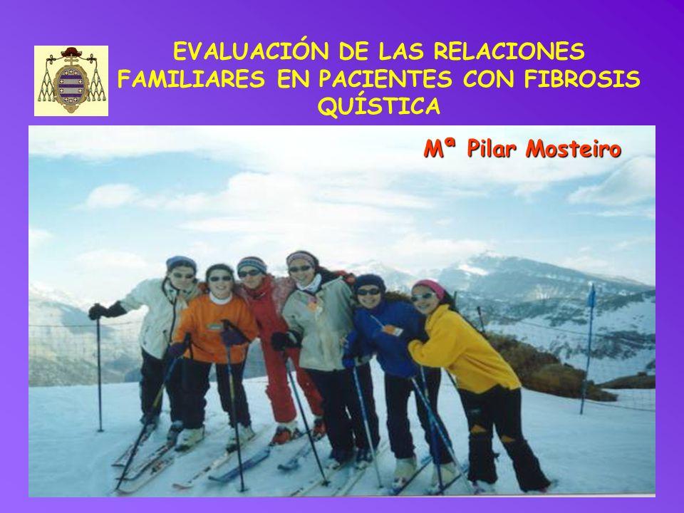 EVALUACIÓN DE LAS RELACIONES FAMILIARES EN PACIENTES CON FIBROSIS QUÍSTICA