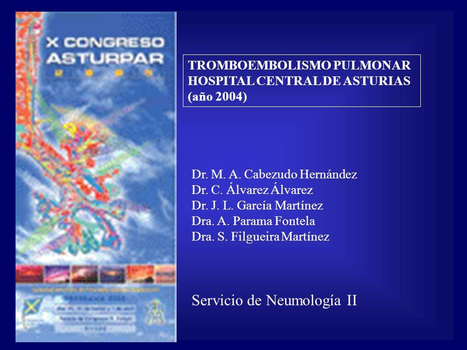 Servicio de Neumología II