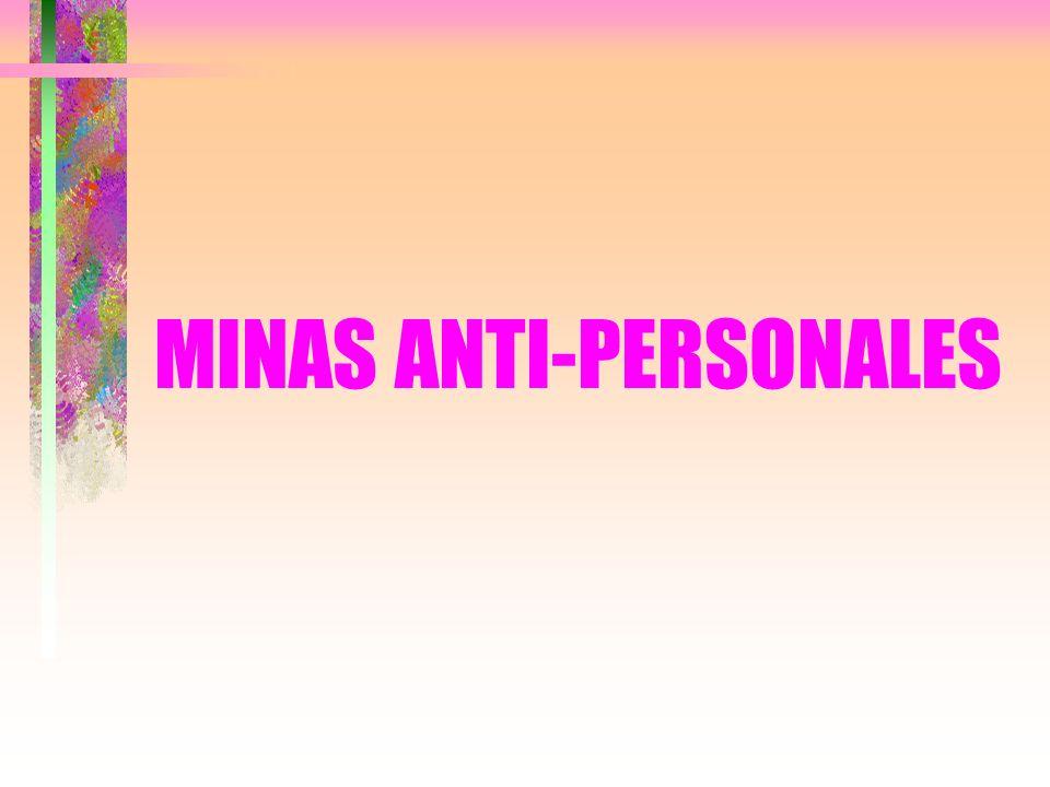 MINAS ANTI-PERSONALES
