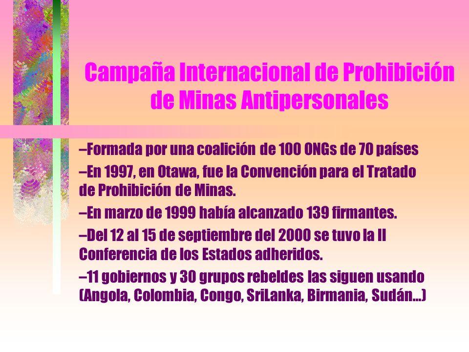 Campaña Internacional de Prohibición de Minas Antipersonales