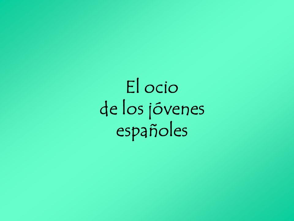 El ocio de los jóvenes españoles