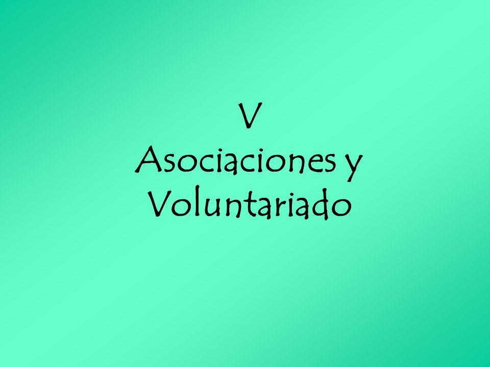V Asociaciones y Voluntariado