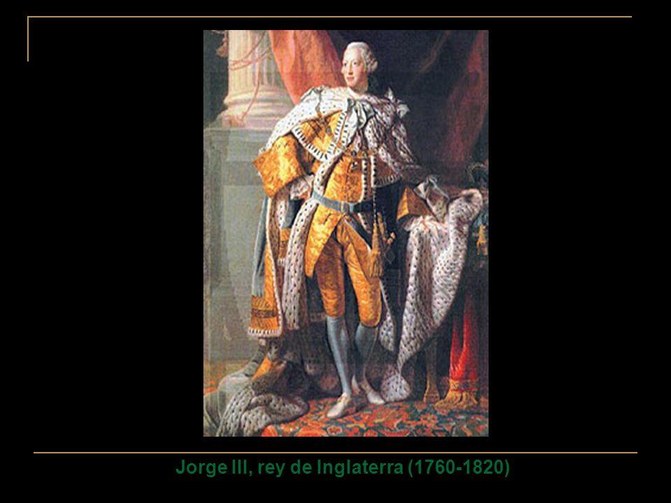 Jorge III, rey de Inglaterra (1760-1820)