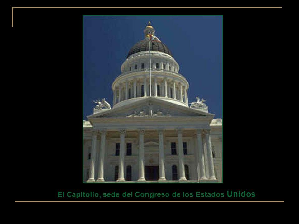 El Capitolio, sede del Congreso de los Estados Unidos